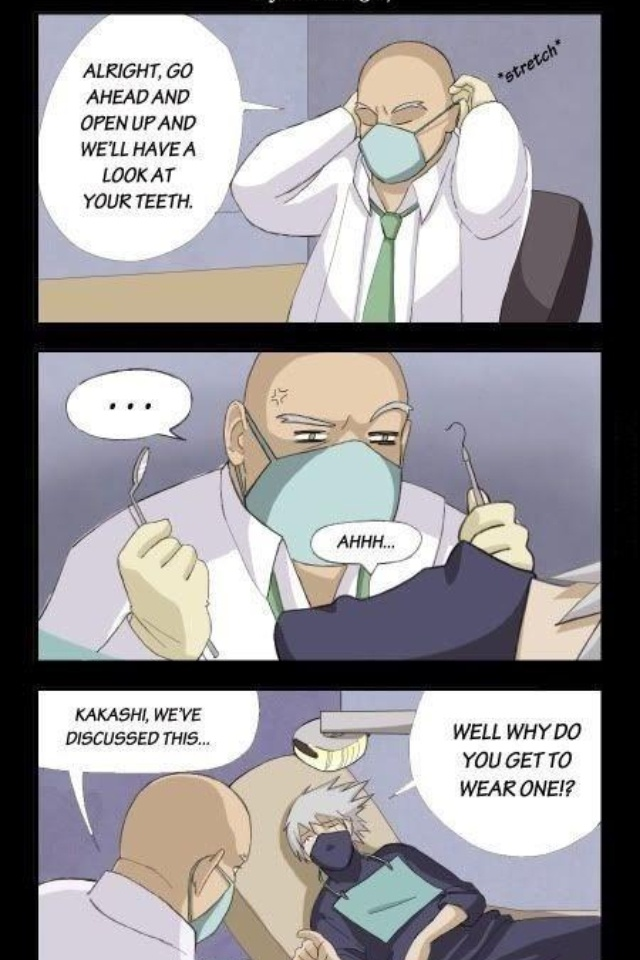 Oh Kakashi xD - Naruto