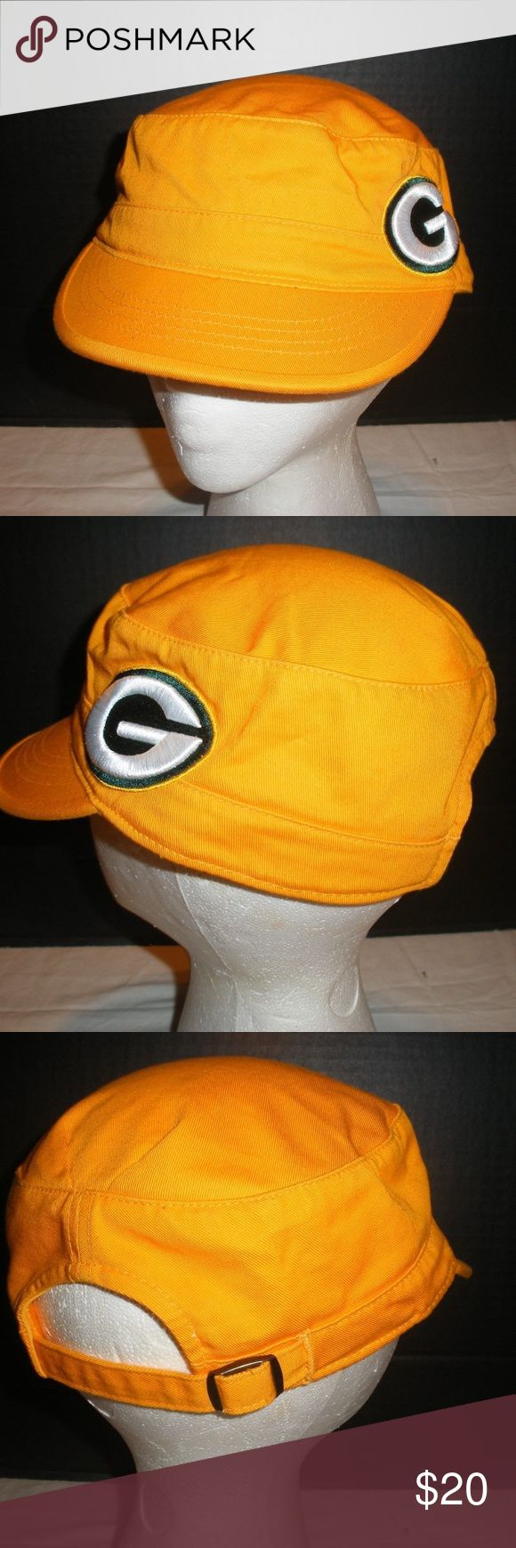 Green Bay Packers Yellow Ladies Hat One Size Green Bay Packers Yellow Ladies Hat One Size Official NFL Merchandise.Hat is in excellent used condition and ready for a new home. NFL Merchandise Accessories Hats