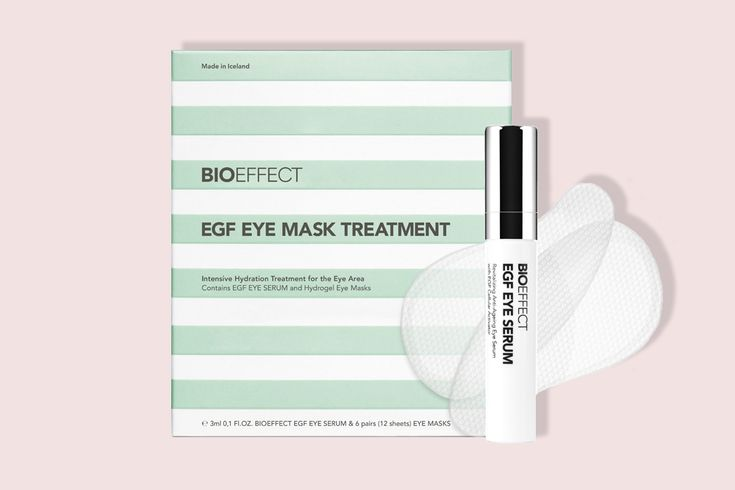 """Icelandic skin care brand BioEffect has a theory about eye products: Serums, creams and the like work """"OK"""" on their own; couple them with a hydrogel patch and you just made the formula much more powerful and much more possible for ingredients to get deeper into skin. Call me a skeptic, but I wasn't so"""