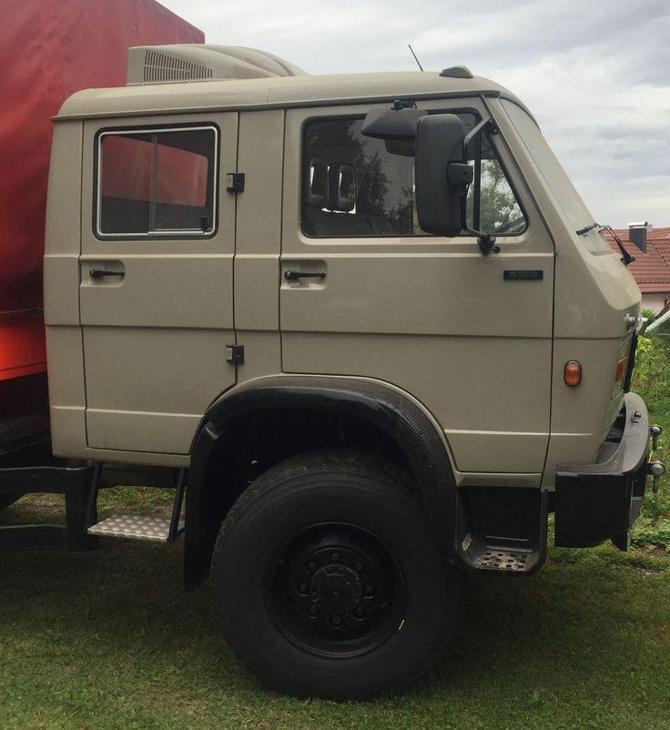MAN VW-MAN 8.150 FAE DOKA als Fahrgestell in Mögglingen