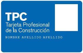 Impartimos cursos para conseguir la Tarjeta Profesional de la Construcción – Tarjeta TPC Para autónomos, desempleados y personas que quieran obtener esta tarjeta / certificado para poder entrar en obra y trabajar en los siguientes puestos de trabajo. Los cursos son presenciales en Madrid (España). * Aula permanente o nivel inicial * Personal directivo de empresa  http://www.tpc20horas.es/  #TPC_metal #TPC_construcción