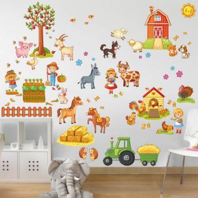 Kinderzimmer wandgestaltung bauernhof  Die besten 25+ Wandtattoos kinderzimmer Ideen auf Pinterest ...