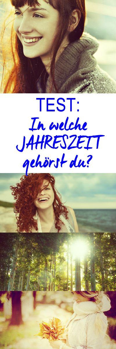 Bist du ein Frühlings-Mädchen, ein Sommerkind, liebst du den Herbst oder kuschelst du dich lieber im Winter ein? Mach unseren Test: In welcher Jahreszeit blühst du so richtig auf? http://www.gofeminin.de/psychotests/test-jahreszeit-s1510910.html