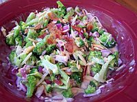 Broccoli Raisin Salad - One of my all-time favorite side dishes