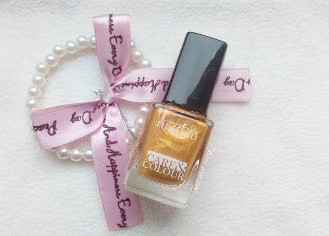 Lakier do paznokci Care&Colour złoty http://www.swiat-recenzji.pl/2015/07/baw-sie-kolorem-be-chic-care-lakiery.html
