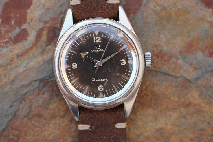 1957 Vintage Omega Railmaster 2914-1 Broad Arrow in Jewellery & Watches…