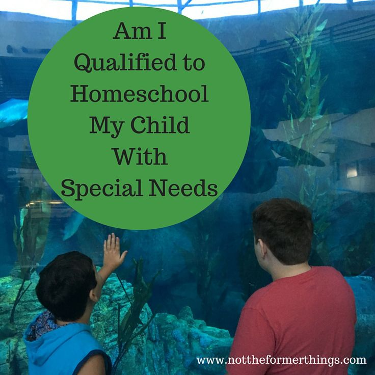 Am I qualified to teach my special needs child?