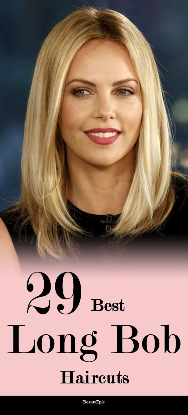 29 Gorgeous Long Bob Hairstyles to Test Out Now | Long hairstyles ...