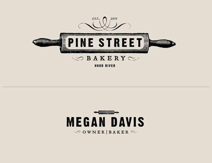 Pine Street Bakery branding by Owen Jones