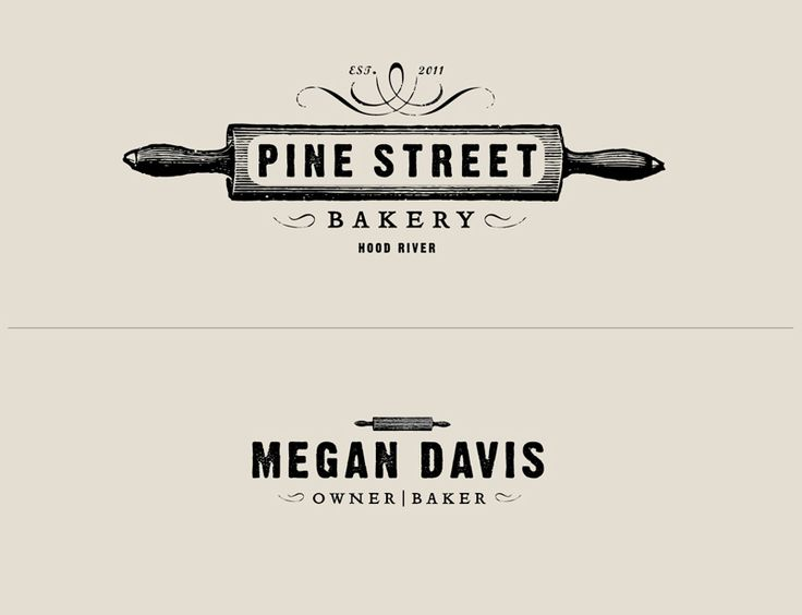 pine street bakery branding by owen jones bakery logo design ideasbakery - Logo Designs Ideas