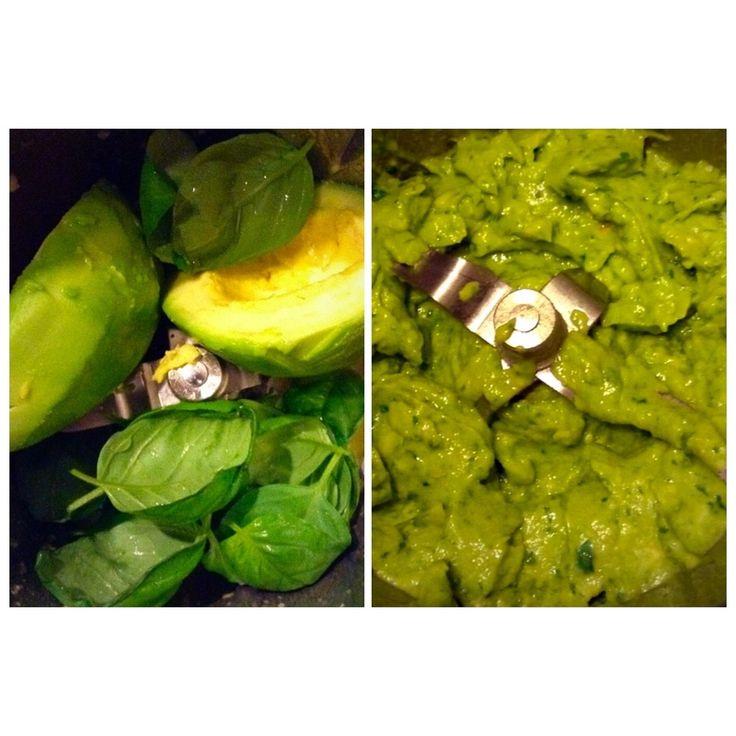 Pesto de abacate