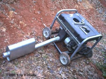 how to make lawn mower more quiet