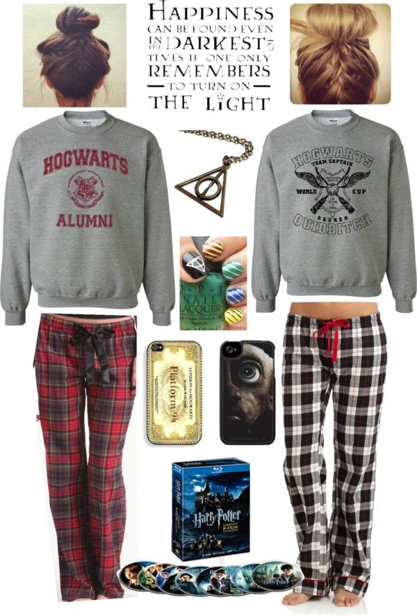 """""""Harry Potter Marathon With The One And Only Rach"""" we are totally gonna dress like this...time to turn the air conditioning on"""