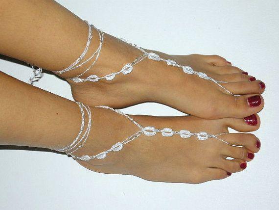 Beach Wedding? Barefoot Sandals by SibelDesign $14.90