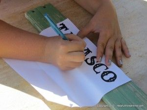 How To Hand Paint And Emboss a Stall Plate- EASY DIY