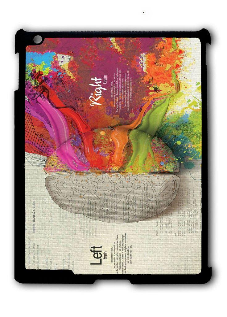 Colorful Brain iPad case, Available for iPad 2, iPad 3, iPad 4 , iPad mini and iPad Air