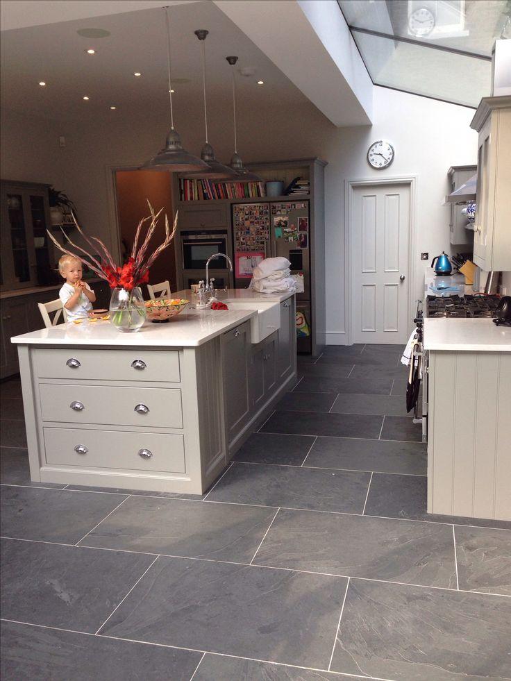 Best 25+ Slate flooring ideas on Pinterest Slate floor kitchen - kitchen tile flooring ideas