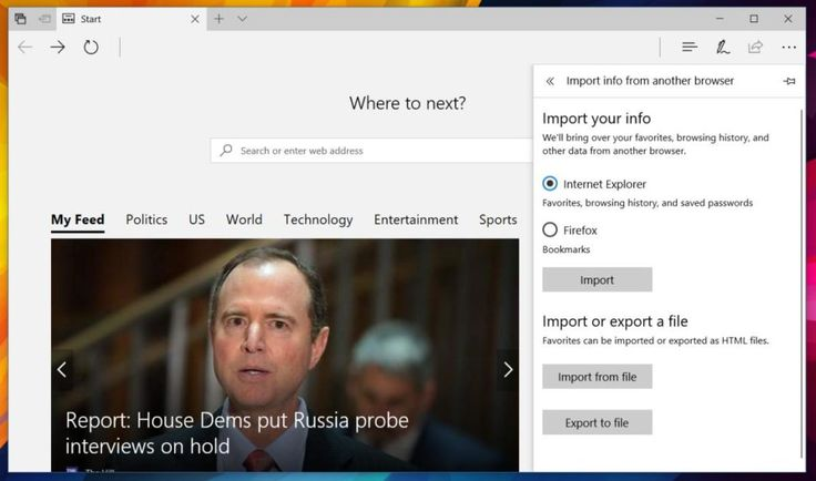 How To Import Chrome Bookmarks In Microsoft Edge
