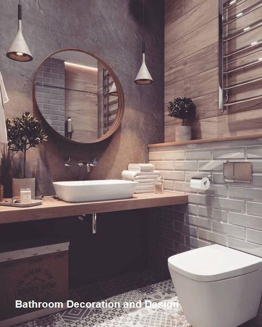 48 besten Badezimmer-Dekor-Ideen im Instagram-Stil