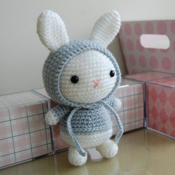 Bunny Gurumi Crochet Pattern | The old, Bright colours and ...