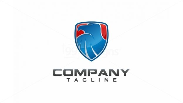 Eagle Shield on 99designs Logo Store