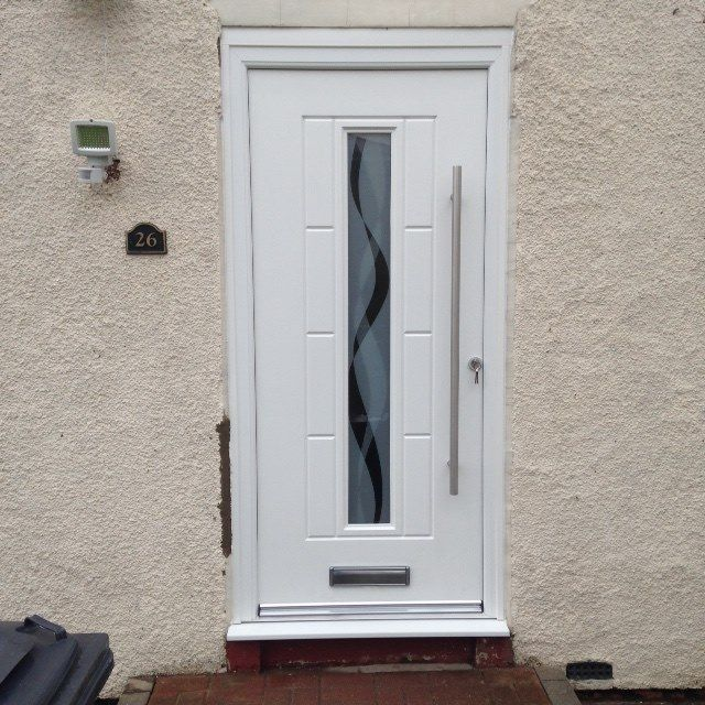 Great image just in from Essex of a shiny new bsck door fitted by your local installer Alan.