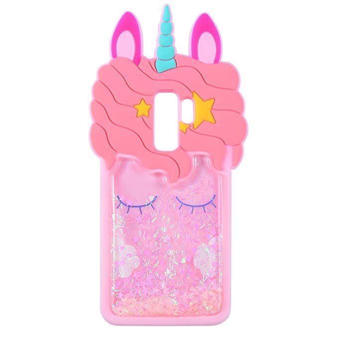 Glitter Unicorn Case Samsung Galaxy S9