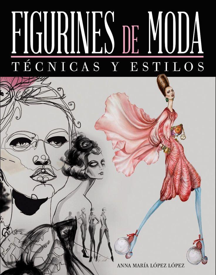 figurines de moda: técnicas y estilos-anna maria lopez lopez-9788441534643