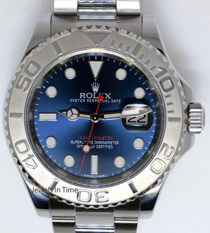 Blue Dial Yacht-Master Rolex