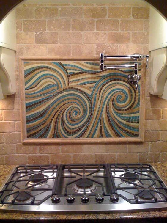 Best custom glass mosaics images on pinterest