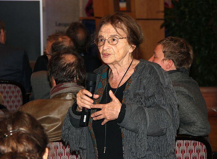 Die ungarische Philosophin Ágnes Heller, Ehrendoktorin der Universität Innsbruck
