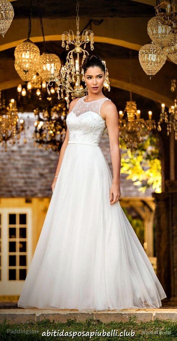 05ed294f025e Matrimoni di nozze 2018 di abiti da sposa Bertossi Brides  abiti  bertossi   brides