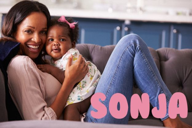 Sonja | 18 Scandinavian Baby Names That'll Make You Want Kids Like, Right Now