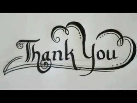 text writer not writing a thank