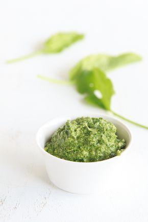 Sauerampfer-Pesto