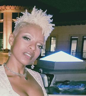 Image result for natural platinum twa styles