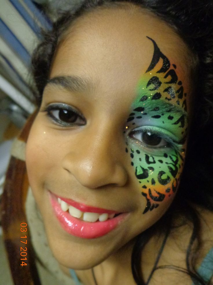Best 20+ Leopard face paint ideas on Pinterest | Cheetah ...