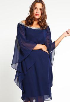 Robes de soirée My Mascara Curves Robe de soirée - navy bleu foncé: 160,00 €…