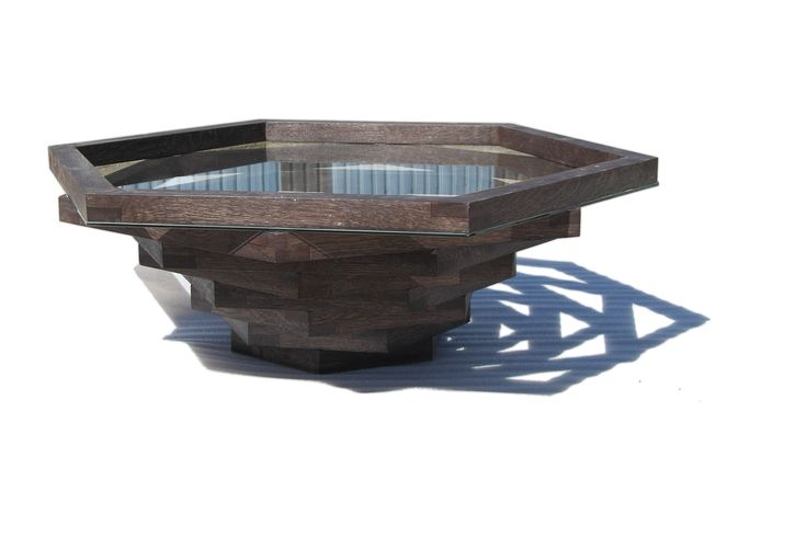 """A custom """"Aloe"""" coffee table made for Prime Home - winners of our 2015 Emerging Designer Competition and made for a Lesotho hotel refurbishment project."""