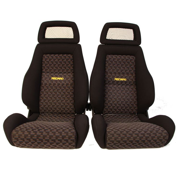 Details about 2 Jdm RECARO LX Tan Leather Reclinable NET
