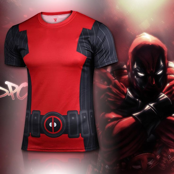 Deadpool Animated Compression Shirt – Novelty Force - Check it out while it's on sale too!