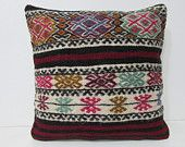 20x20 kilim pillow 20x20 large decorative pillow euro pillow sham large couch pillow large floor cushion