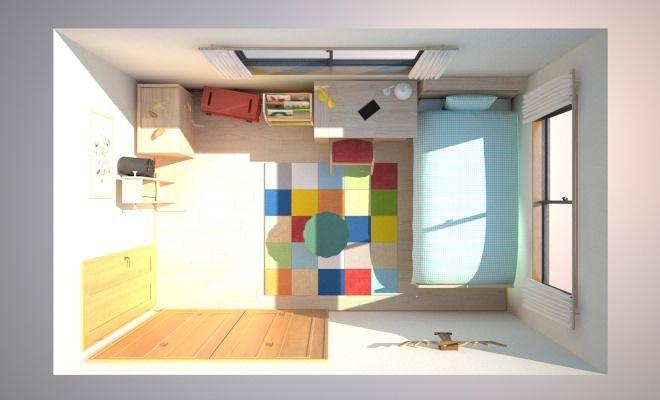 5畳子供部屋 間取り図