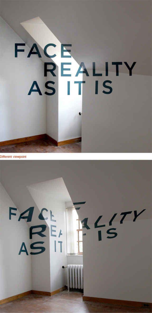 typographic optical ilusion