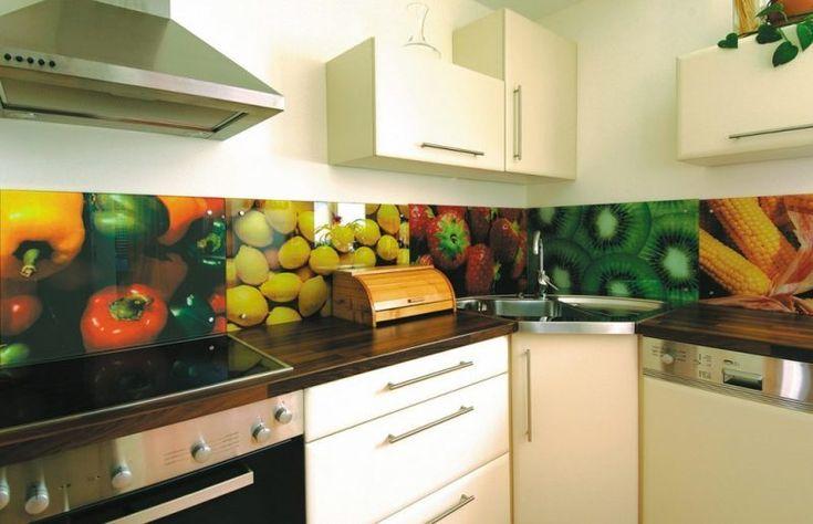 19 tendenziöse Ideen für Küche Glasrückwand - holzdielen in der küche