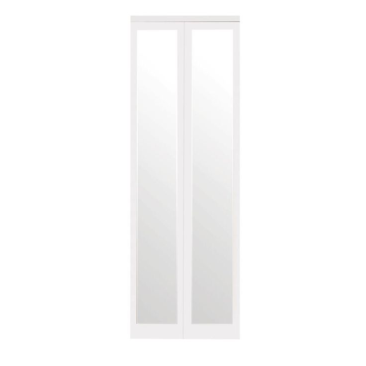 Best 25 Mirrored Bifold Closet Doors Ideas On Pinterest