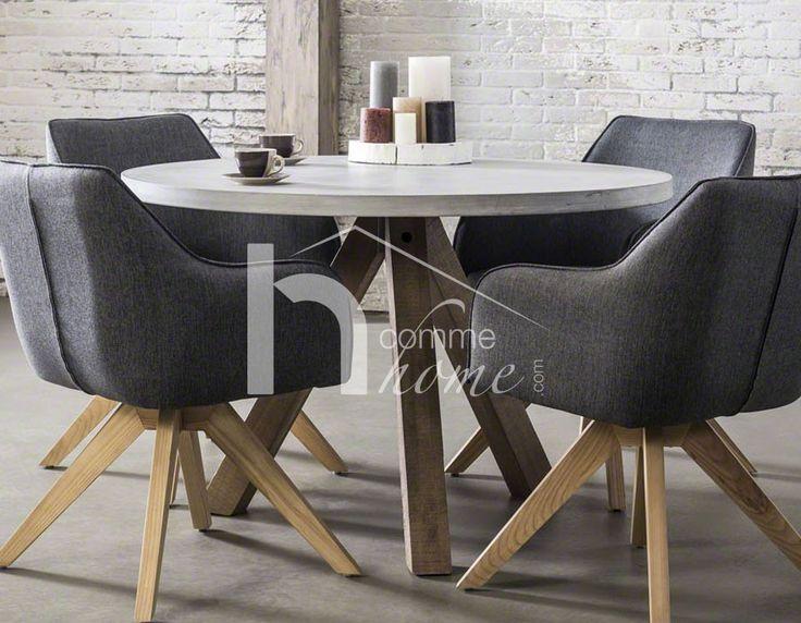 1000 id es sur le th me table en b ton sur pinterest. Black Bedroom Furniture Sets. Home Design Ideas