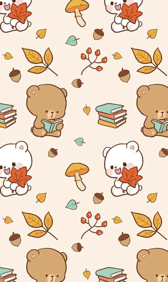 Milk And Mocha On Tumblr Cute Bear Drawings Cute Drawings Cute Kawaii Drawings