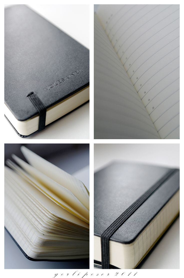 I pin it because Moleskine is a simple platform that get people creative.