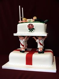 rugby wedding cake toppers uk best 25 rugby wedding ideas on shapes 19469